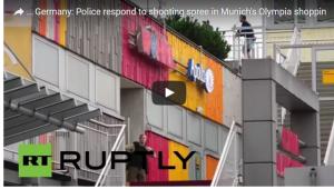 تفاصيل الهجوم على المركز التجاري في ميونيخ..فيديو