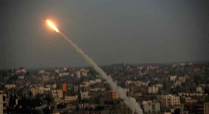 صواريخ المقاومة الفلسطينية تضرب مستوطنات غلاف قطاع غزة