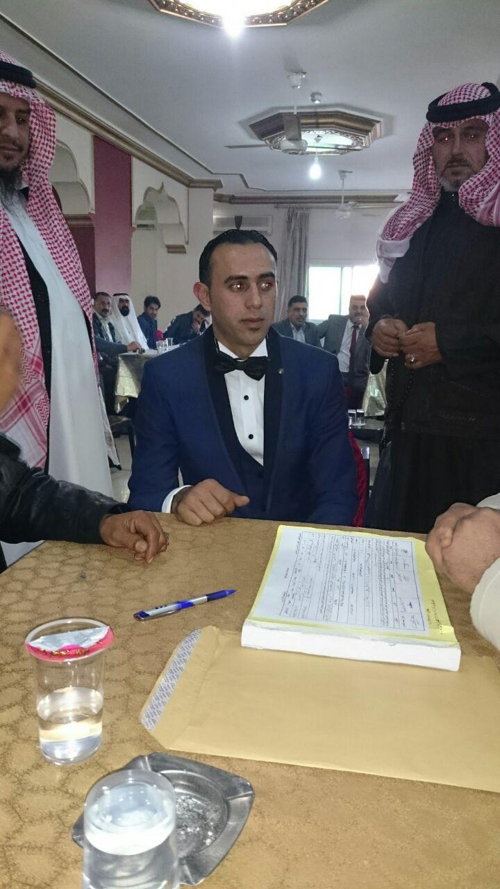 محمد العنزي  مبارك الخطوبة