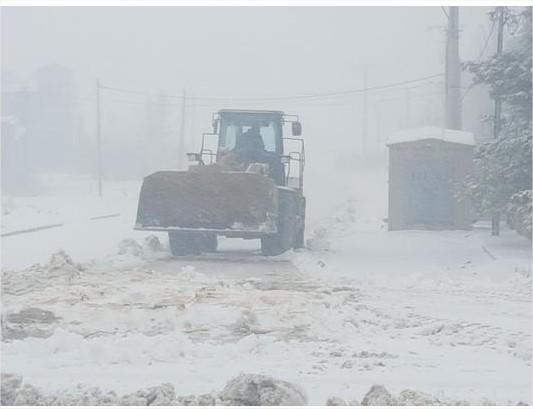 إخلاء 40 سائحا حاصرتهم الثلوج في معان والكرك