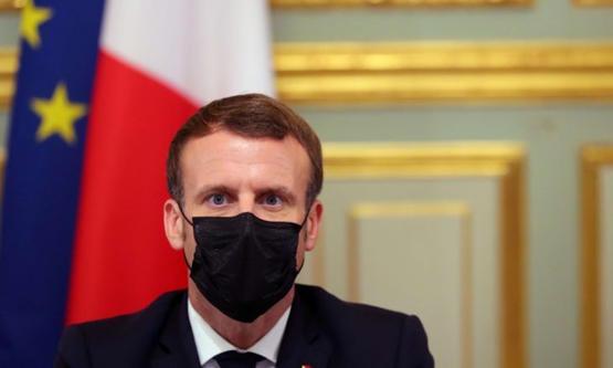 ماكرون: فرنسا تخطت ذروة الموجة الثانية من كورونا