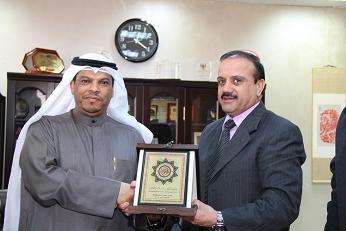 الملحق الثقافي الكويتي يزور جامعة العلوم الإسلامية العالمية