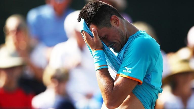 تغريم لاعب تنس 50 ألف يورو بسبب ثاني أسرع خسارة!