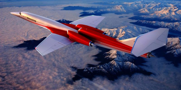 بالصور: تعرّف على طائرة رجال الأعمال الأسرع من الصوت