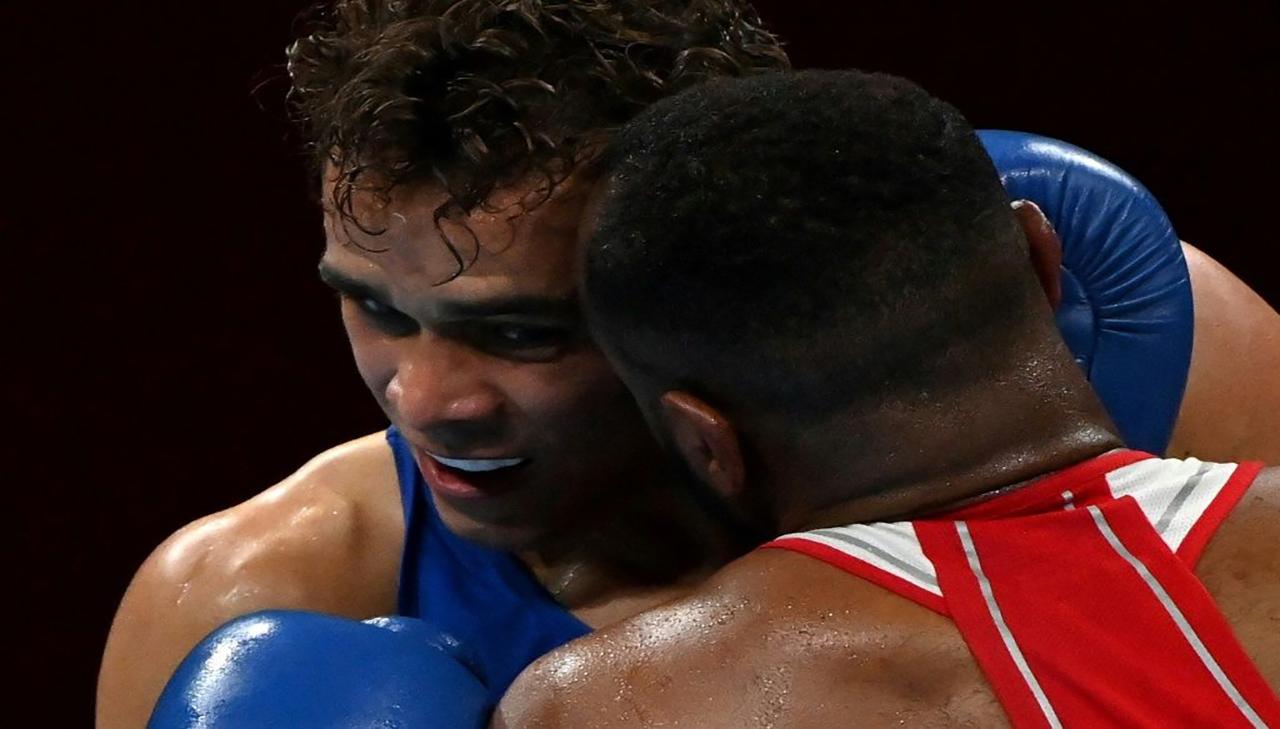 استبعاد ملاكم عربي من الأولمبياد لِعَضِه أذن خصمه