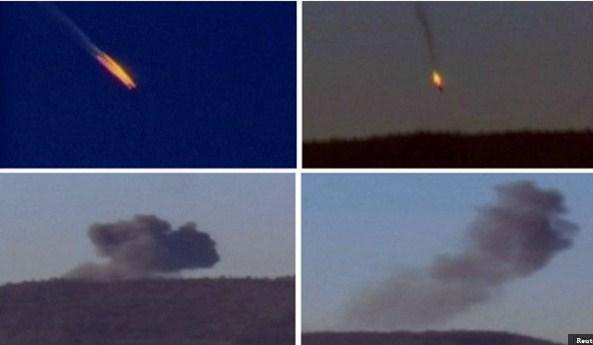 الجيش السوري ينقذ الطيار الروسي الثاني المفقود بعد سقوط الطائرة