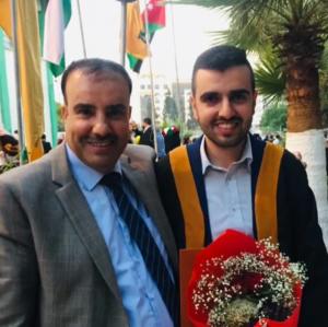 الزميل عمر سلامه  ..  مبارك تخرج نجلك قصي من الجامعة الأردنية