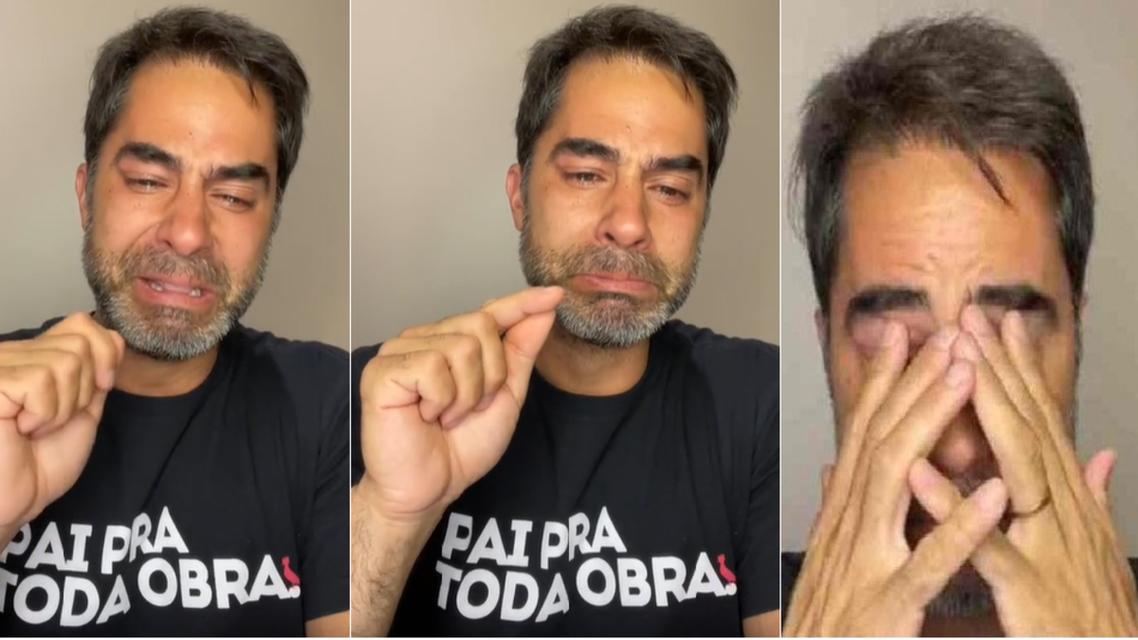 بالفيديو ..  الطبيب المتحرش بمصرية يبكي بعد عودته إلى البرازيل