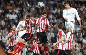 ريال مدريد يتعثر أمام بيلباو ورونالدو ينقذه من الهزيمة