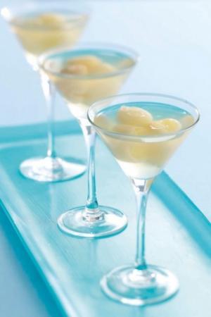 عصير الزنجبيل والليتشي