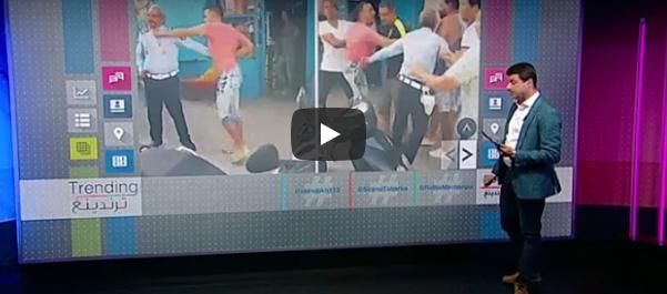 فيديو لضرب شرطي مرور يثير سخط كثيرين في تونس