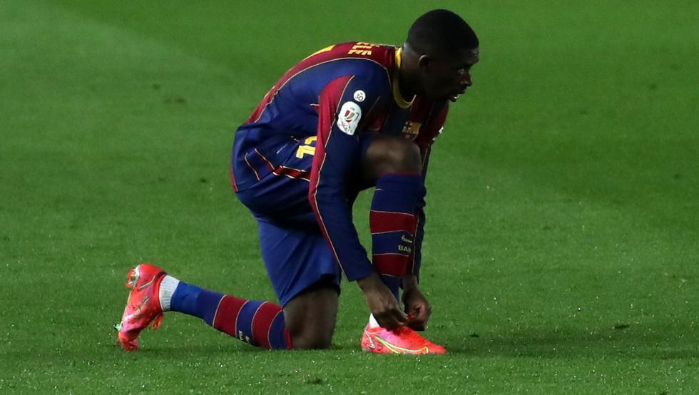 قلق في برشلونة من العروض القادمة لـ ديمبيلي