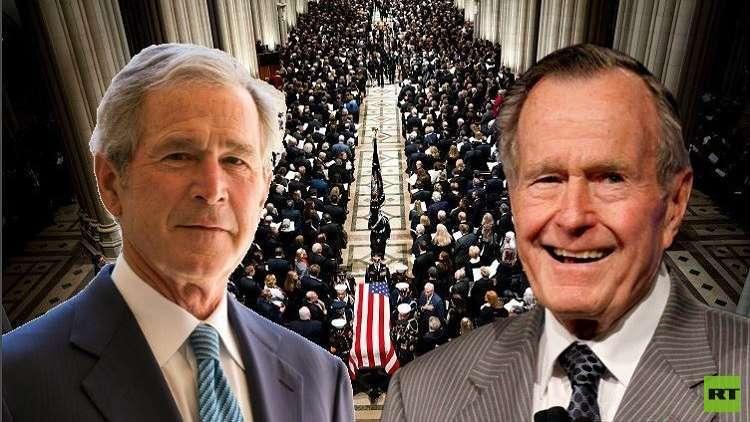 تقارير تكشف عن الكلمات الاخيرة التي تلفظ بها جورج بوش الأب