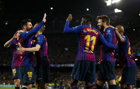 برشلونة الأفضل قبل الدور ربع النهائي من دوري الأبطال