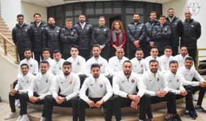المنتخب الوطني لكرة القدم يبدأ معسكرا تدريبيا في دبي