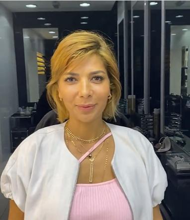 بالفيديو وصور  ..  أصالة تدهش جمهورها بـ لوك جديد