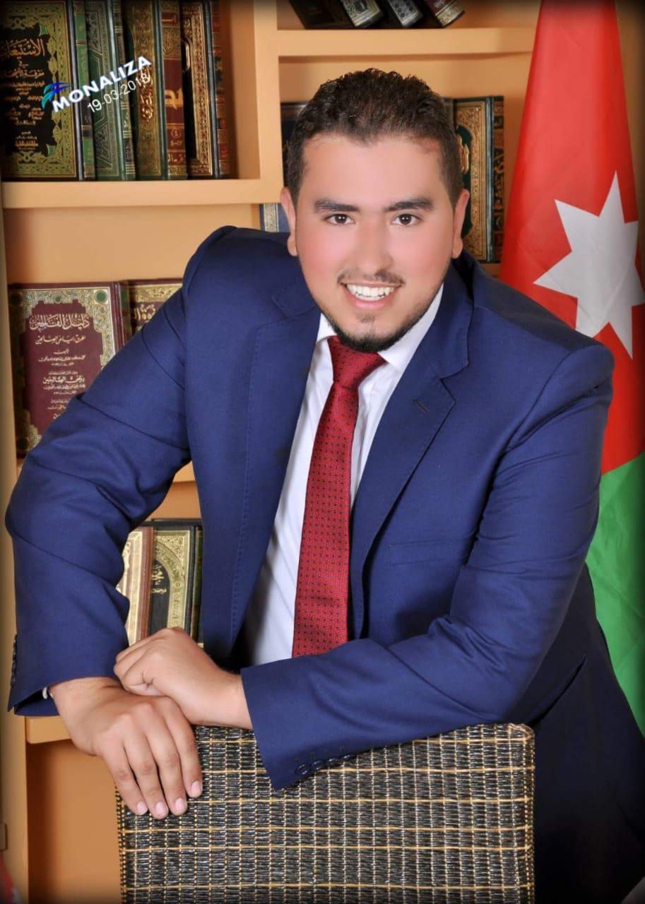 المهندس معاذ بشير الشرمان ..   مبارك التخرج