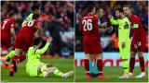 نجم ليفربول يكشف لماذا ضرب ميسي؟