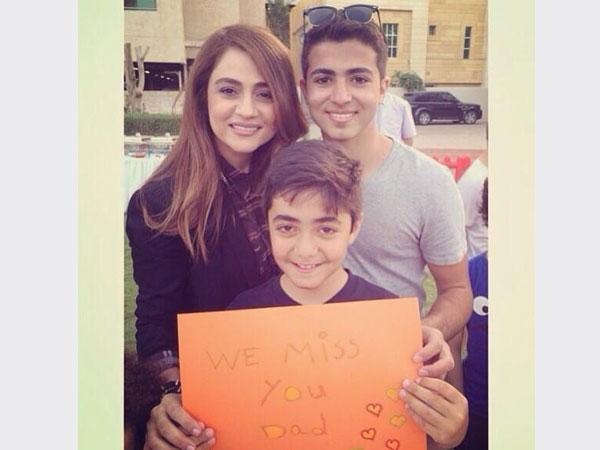 صور جوليا بطرس عن اشتياقها لزوجها إلياس أبو صعب 2014