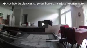 بالفيديو: لصان محترفان يسرقان منزلاً في غضون ثلاث دقائق