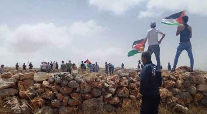 مواجهات في قصرة بعد احتجاز أربعة مستوطنين