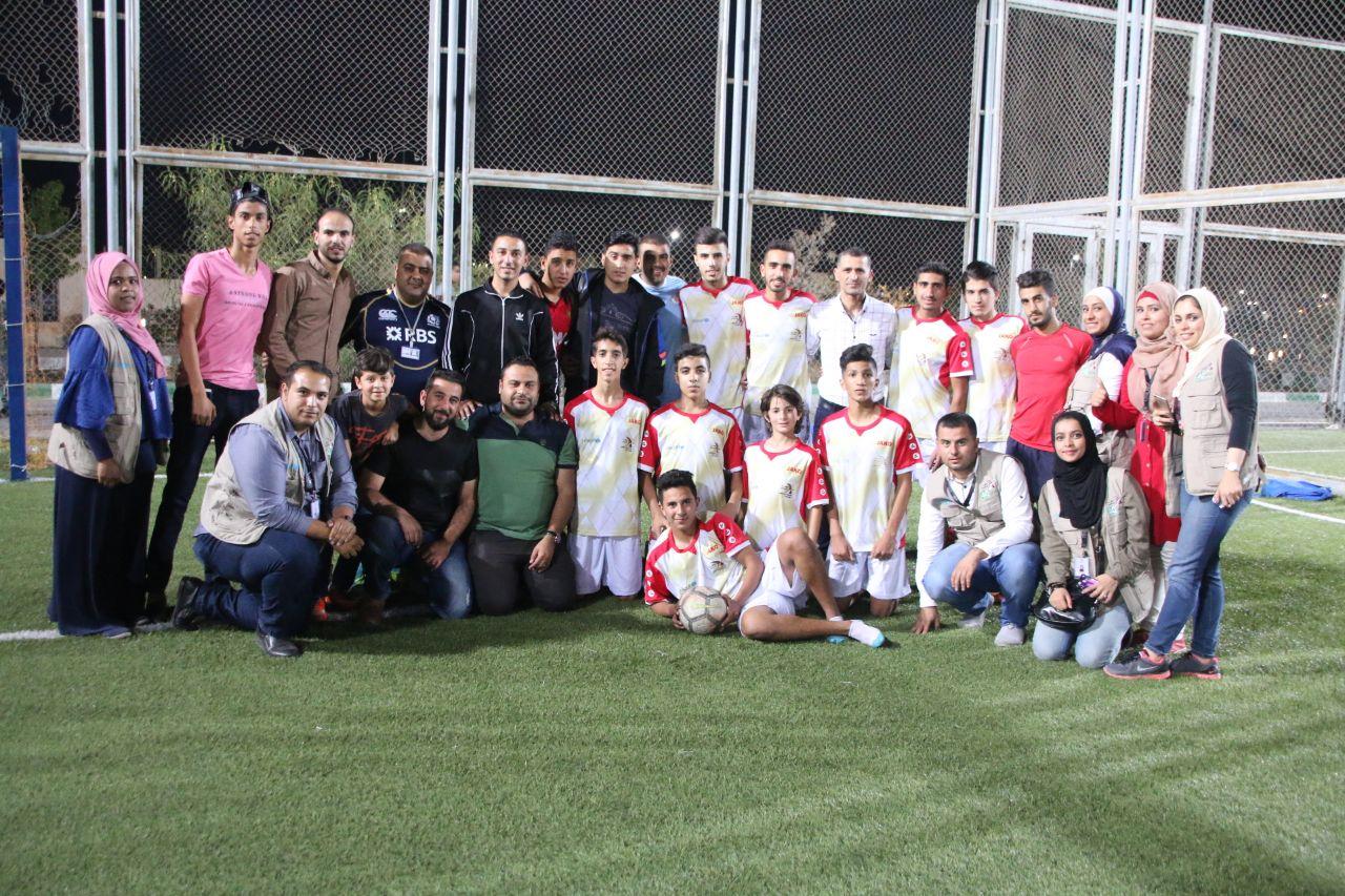 إختتام دوري مهاراتي لكرة القدم في اربد