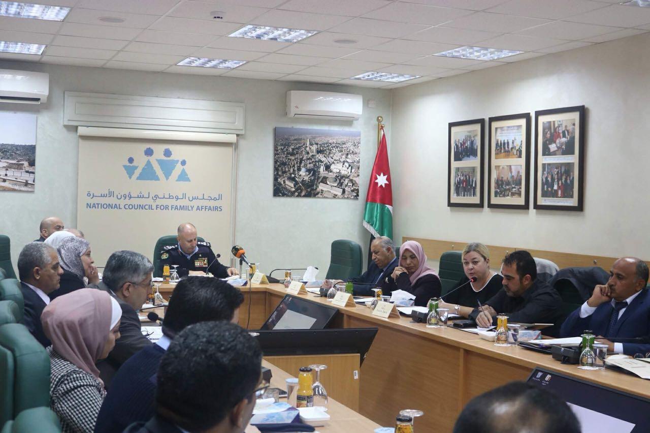 افتتاح الورشة المتخصصة لمناقشة مسودة نظام حماية الشهود والمبلغين في المجلس الوطني لشؤون الاسرة