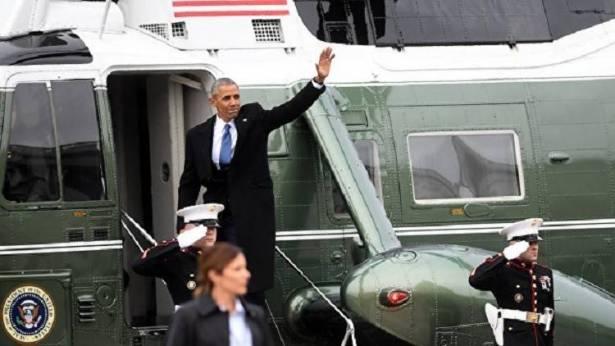 كيف قضى أوباما يومه الأول بعد تركه الرئاسة؟