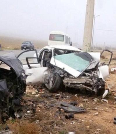 وفاة شخص اثر حادث تدهور في محافظة المفرق