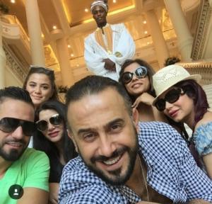 بالصور.. قصي خولي ولجين عمران يستمتعان بإجازة معًا