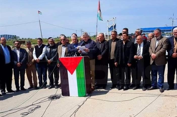 غزة  ..  'مليونية' سلمية في يوم الارض