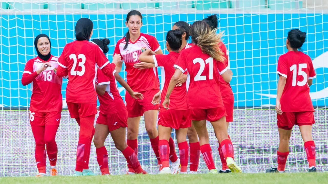 منتخب النشميات يحقق فوزاً على بنغلادش بالتصفيات الآسيوية في اوزبكستان