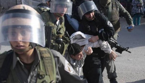 قوات الاحتلال تعتقل أربعة شبان فلسطينين من بلدة بيت كاحل بالخليل