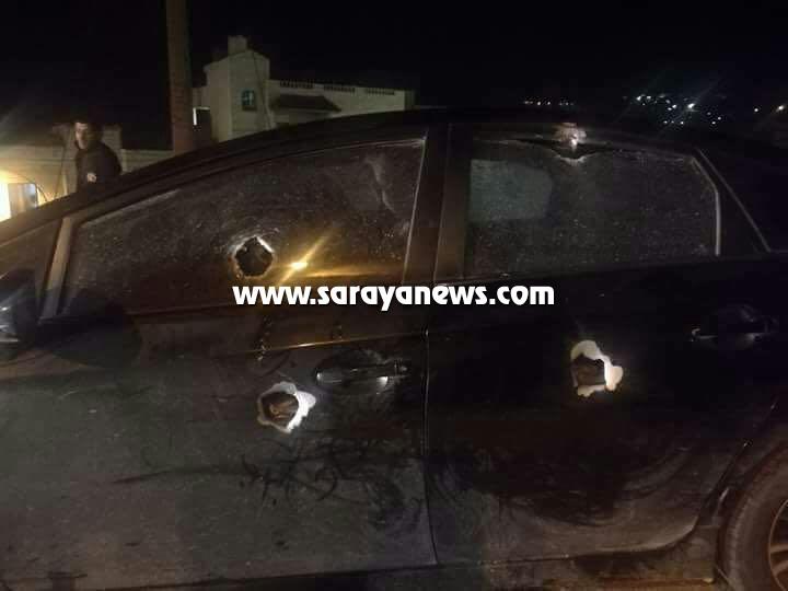 بالصور ..  جرش: صاحب اسبقيات يطلق النار على مركبة احد المواطنين ويلوذ بالفرار ..  تفاصيل