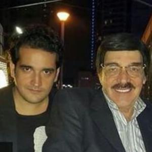 بالصور: هذا الشاب الوسيم هو ابن الفنان ياسر العظمة