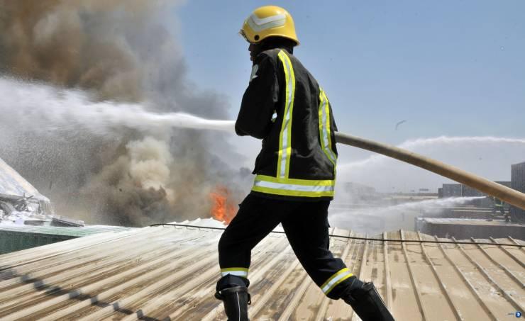 24 حادث حريق وإنقاذ في الضفة خلال يوم