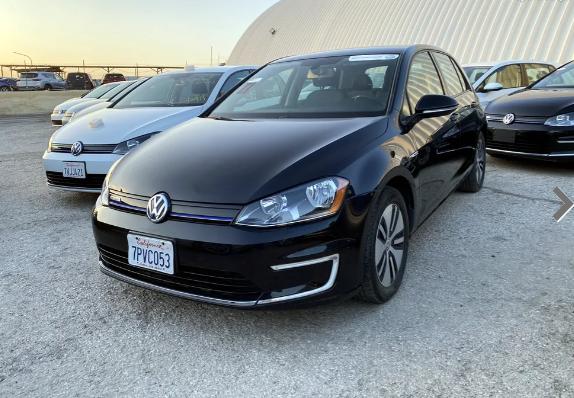 Volkswagen eGolf 2016 جولف كهرباء جميع الالوان والاصناف