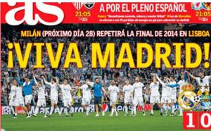 صحف إسبانية: مدريد عاصمة دوري أبطال أوروبا