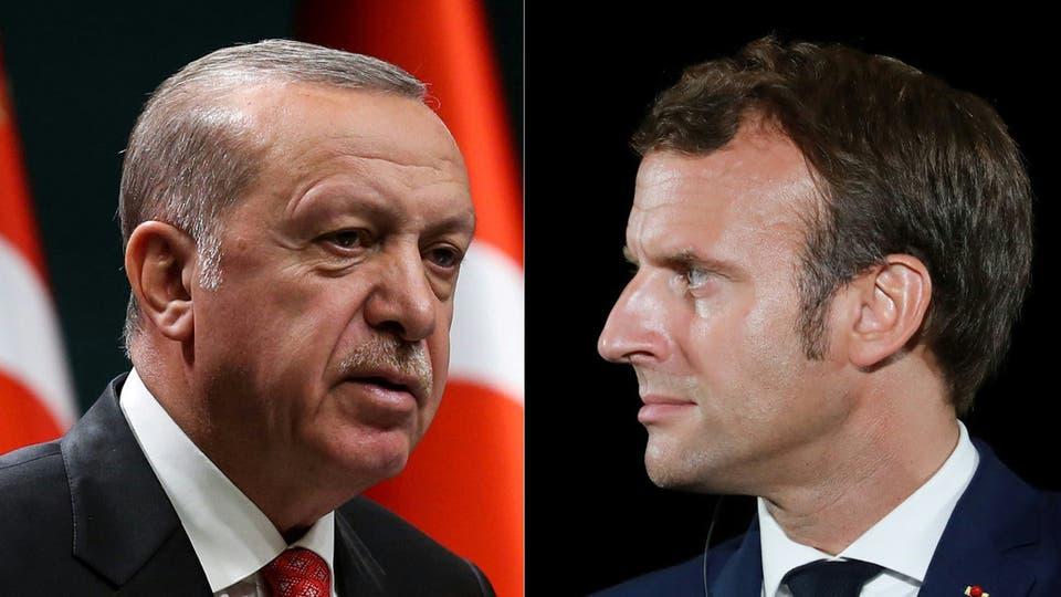أردوغان يشكك في قوى ماكرون العقلية ..  وفرنسا تستدعي سفيرها للتشاور