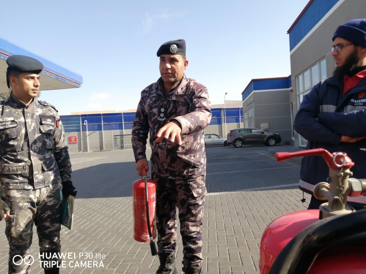 الدفاع المدني يُنظم مبادرة (شتاء آمن) في محافظة معان
