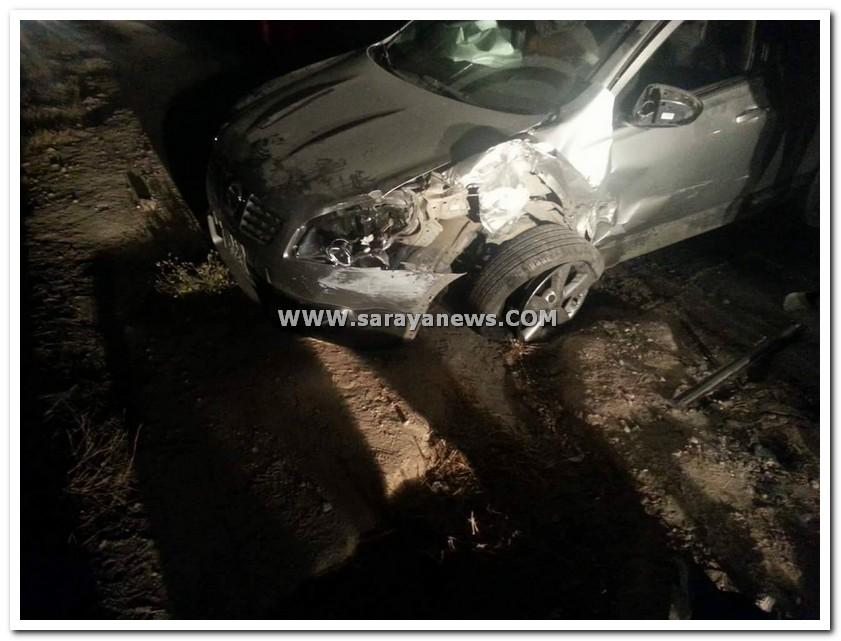 بالصور ..  وفاة عشريني بحادث سير مروع على طريق اربد - عجلون