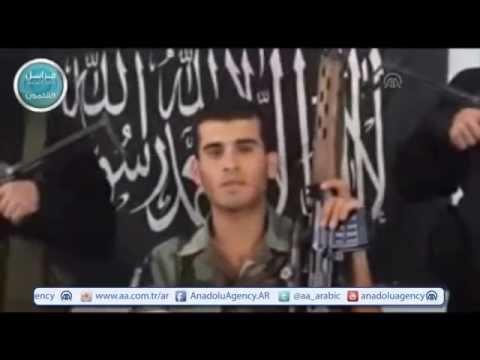 فيديو يظهر انشقاق جندي لبناني وانضمامه للنصرة