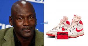 بيع حذاء رياضي لمايكل جوردن بـ 1.5 مليون دولار