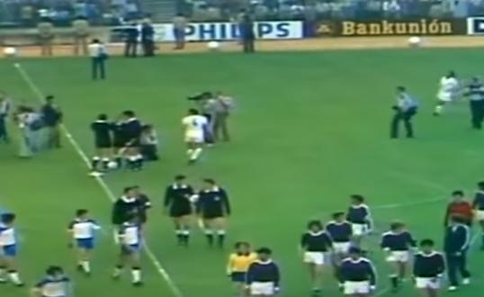 بالفيديو .. حادثه لن تتكرر عندما هزم ريال مدريد نفسه في نهائي كأس اسبانيا