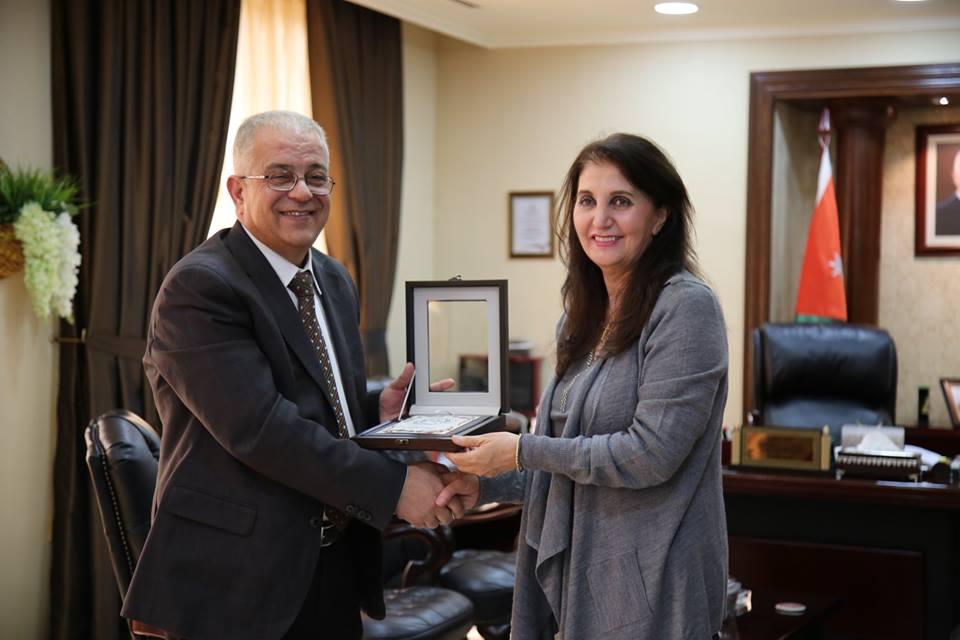 جامعة الزيتونة الأردنية تستضيف مديرة جائزة الأمير الحسن للشباب