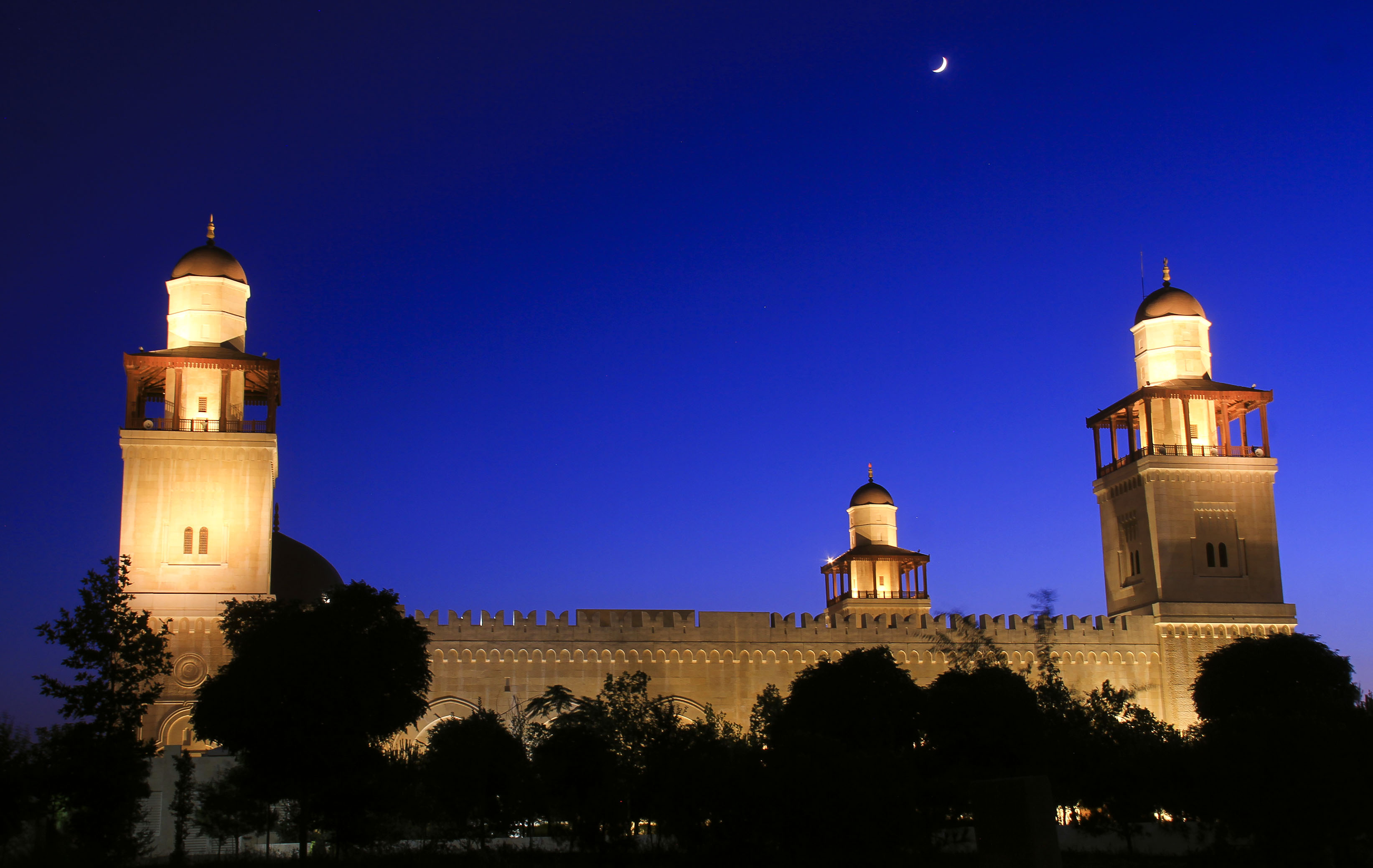 مسجد الملك حسين ..  صور