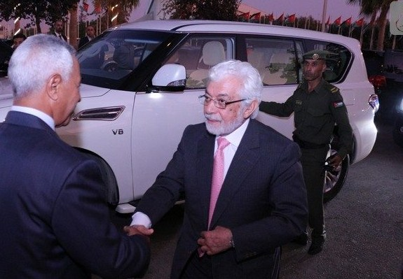 بالصور  ..  الأمير علي يترأس جاهة الفايز و قندور