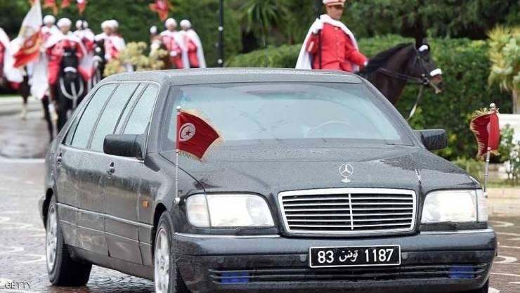 ضبط مخدرات في 'سيارة للرئاسة'' التونسية