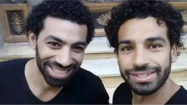 بالفيديو  ..  شبيه محمد صلاح يفجر مفاجأة مدوية