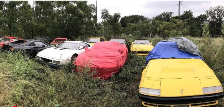 بالصور ..  لماذا تم هجر كل هذه السيارات الرياضية القيّمة؟